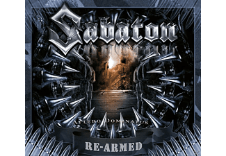 Sabaton Attero Dominatus (Re-Armed) CD