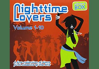 VARIOUS - Nighttime Lovers Vol.1-10  - (CD)