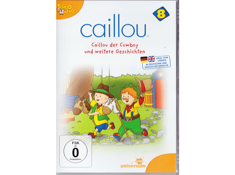 Caillou - Vol. 8 [DVD]