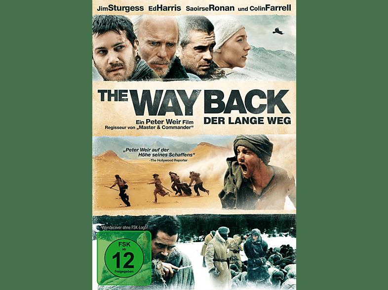 THE WAY BACK - DER LANGE WEG [DVD]