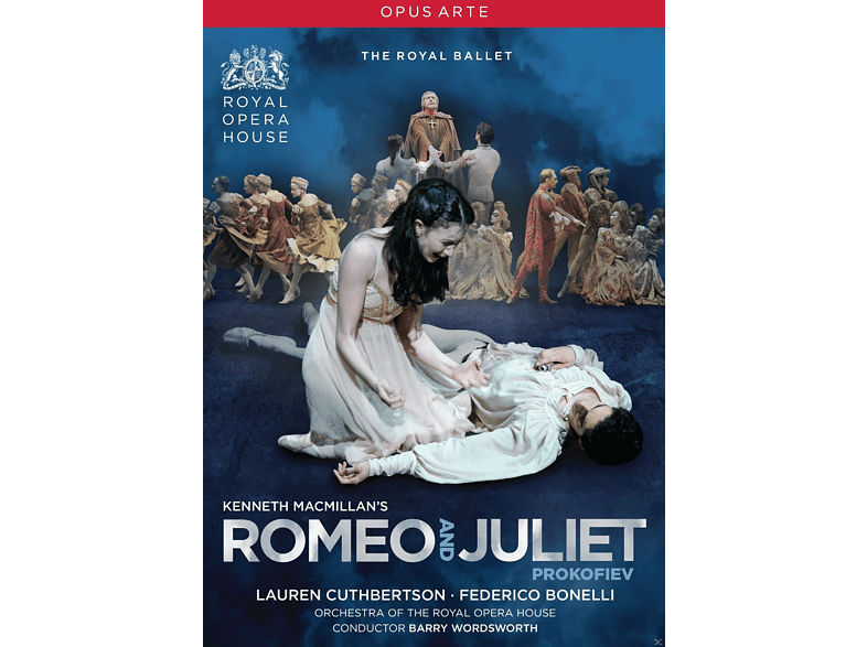 Lauren Cuthbertson, Federico Bonelli, Orchestra Of The Royal Opera House - Kenneth Macmillan's: Romeo And Juliet [DVD]