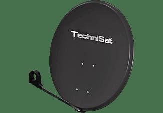 TECHNISAT Sat-Schüssel DigitalSat 80 inkl. Quattro-Switch, grau
