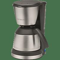 CLATRONIC KA 3563 Kaffeemaschine Schwarz/Inox