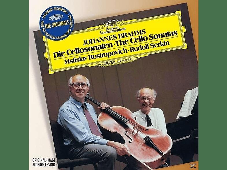 Rudolf Serkin, Mstislav Rostropovich - The Originals-Brahms: Die Cellosonaten [CD]