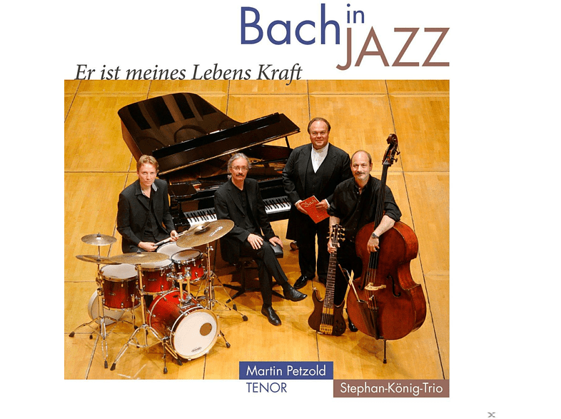Martin Petzold, Stephan-könig-trio - Bach In Jazz [CD]