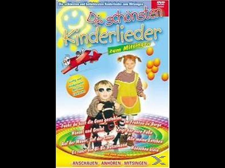 Die schönsten Kinderlieder zum Mitsingen Vol.1 [DVD]