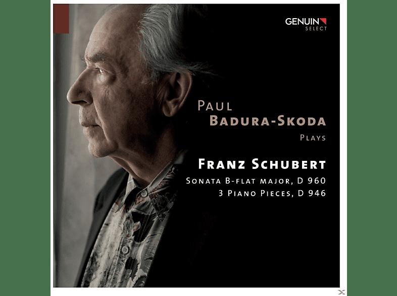Paul Badura-skoda - Sonata B-Flat Major, D 960 - 3 Piano Pieces, D 946 [CD]