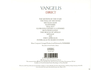 Vangelis - Direct (Remastered Edition)  - (CD)