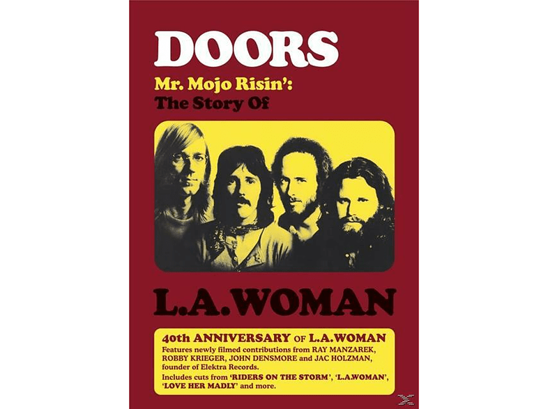 The Doors - MR MOJO RISIN - THE STORY OF L.A.WOMAN [DVD]
