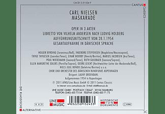 Holger Byrding, Ingeborg Steffensen, Einar Noerby, Ruth Guldbaek, Thyge Thygesen, Marius Jacobsen, Chor & Orchester Des Dänischen Rundfunks - Maskerade  - (CD)