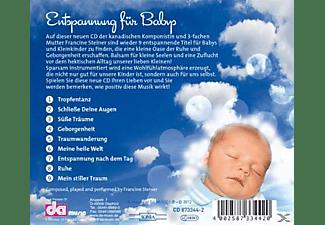 Francine Steiner - Entspannung Für Babies-Balsam Für Kleine Seelen  - (CD)