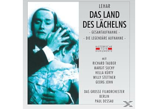 Das Grosse Filmorchester Berlin - Das Land Des Lächelns  - (CD)