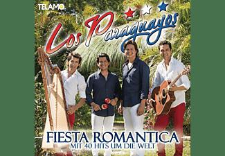 Los Paraguayos - Fiesta Romantica-Mit 40 Hits Um Die Welt  - (CD)