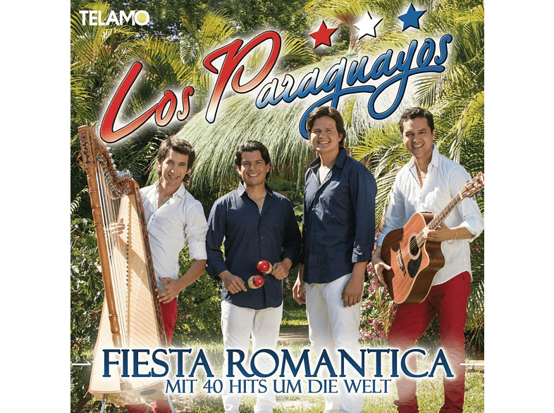 Los Paraguayos - Fiesta Romantica-Mit 40 Hits Um Die Welt [CD]