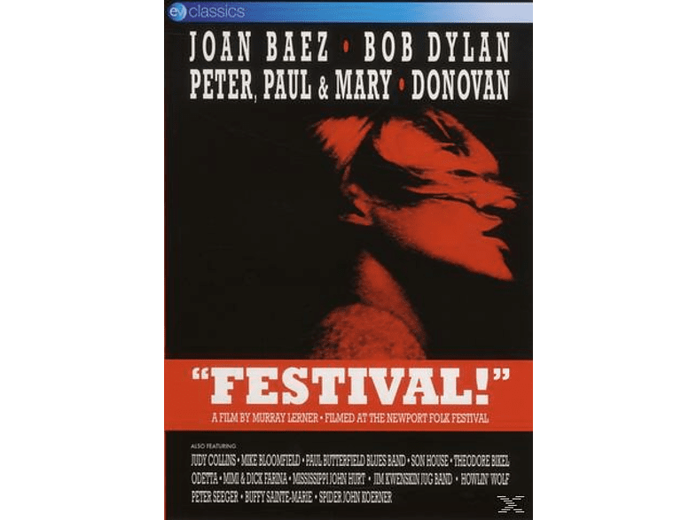 Bob Dylan, Joan Baez, Paul & Mary Peter - Festival! [DVD]