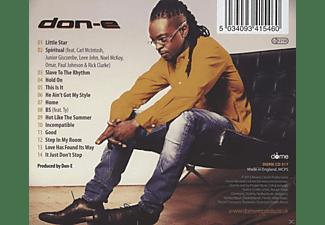 Don E - Little Star  - (CD)