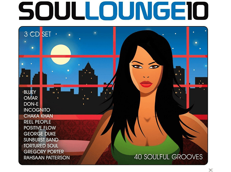 VARIOUS - Soul Lounge 10 - 40 Soulful Grooves [CD]