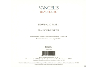 Vangelis - Beaubourg (Remastered Edition)  - (CD)
