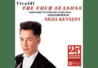 Nigel Kennedy, English Chamber Orchestra - Die Vier Jahrezeiten (25th Anniversary Edition)  - (CD + DVD Video)