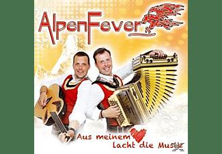 Alpenfever - Aus meinem Herz lacht die Musik  - (CD)