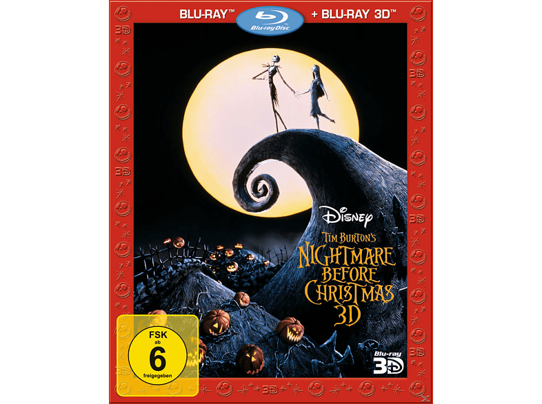 Nightmare Before Christmas - 3D Edition [3D Blu-ray (+2D)]