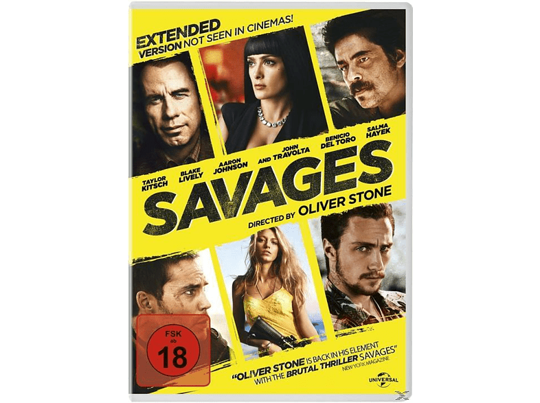 Savages (Extended Version) [DVD]
