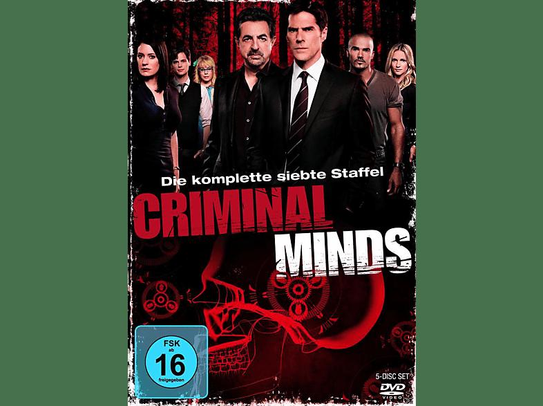 Criminal Minds - Staffel 7 [DVD]