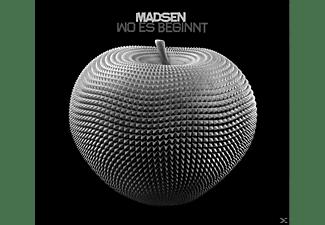 Madsen - Wo Es Beginnt  - (CD)
