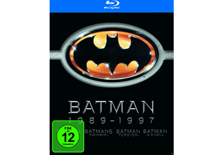 Batman 1 - 4 [Blu-ray]