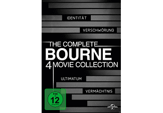 Bourne Collection 1-4 Box [DVD]