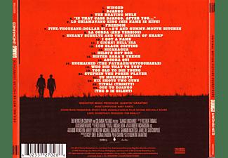VARIOUS - DJANGO UNCHAINED  - (CD)