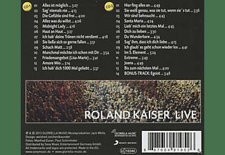 Roland Kaiser - Live  - (CD)