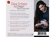 Olga Scheps, Stuttgarter Kammerorchester - Klavierkonzerte [CD]