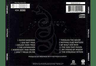 Metallica - Metallica (The Black Album)  - (CD)