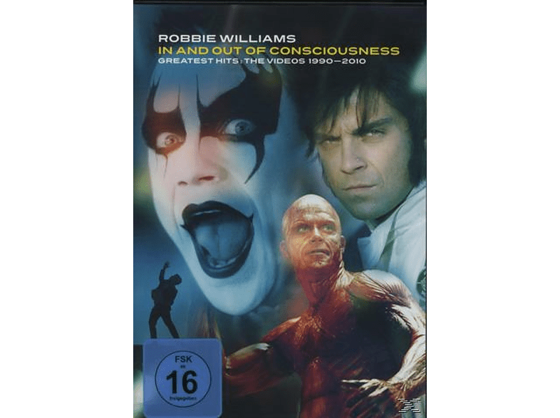 Robbie Williams - In And Out Of Consciousness: Greatest Hits - The Videos 1990-2010 [DVD]