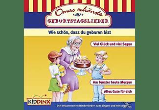 VARIOUS - Omas Schönste Geburtstagslied  - (CD)