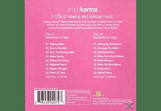 MORRISON,TOM E. & MALLOY,ALASDAIR - Simply : Karma  - (CD)