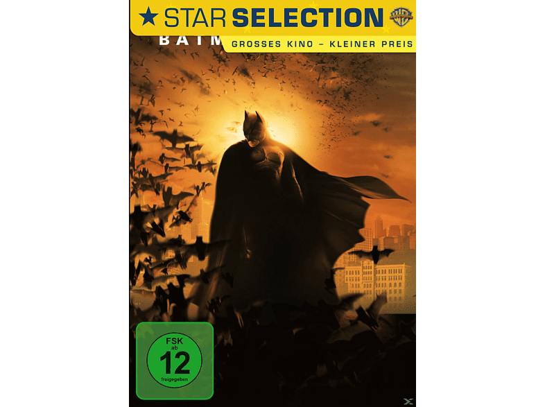 Batman Begins (DVD Star Selection) [DVD]