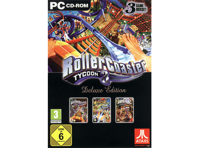 Rollercoaster Tycoon 3 - Deluxe Edition (Software Pyramide) [PC]