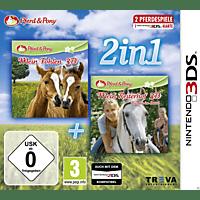 2in1: Mein Fohlen 3D + Mein Reiterhof 3D - Rivalen im Sattel - [Nintendo 3DS]