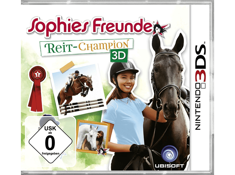 Sophies Freunde: Reit-Champion 3D (Software Pyramide) [Nintendo 3DS]