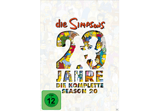 Die Simpsons - Staffel 20 [DVD]