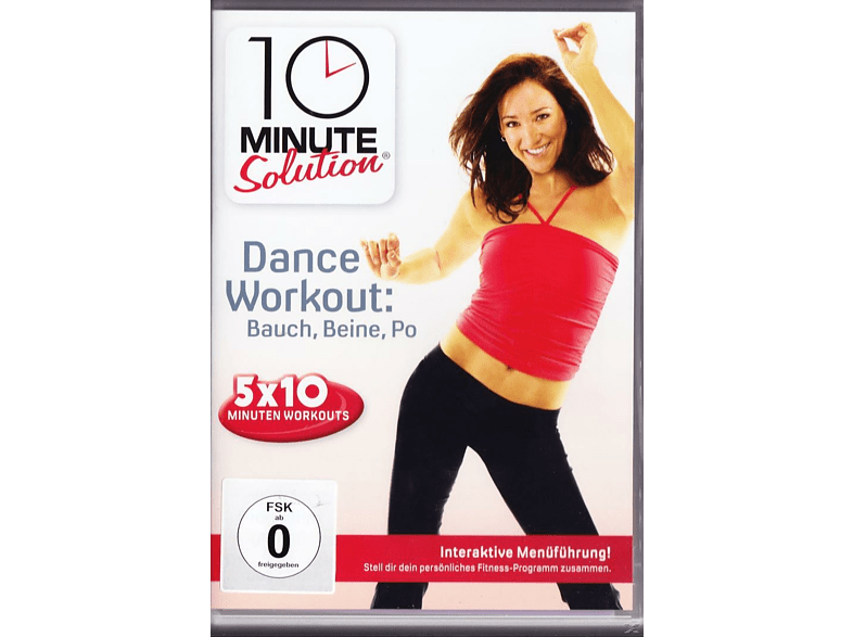 10 Minute Solution: Dance Workout - Bauch, Beine, Po [DVD]