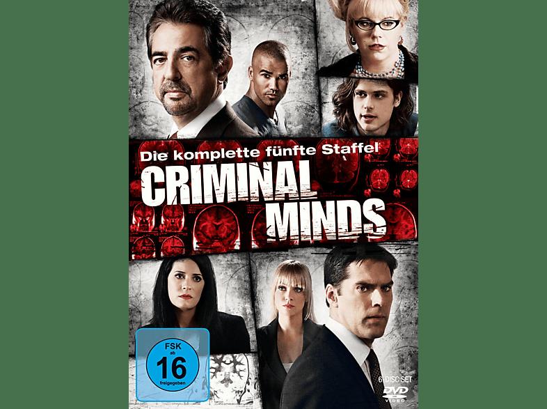 Criminal Minds - Staffel 5 [DVD]