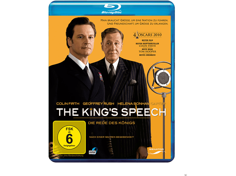 The King's Speech - Die Rede des Königs [Blu-ray]