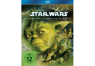 Star Wars: Trilogie - Der Anfang Episode I-III Box [Blu-ray]