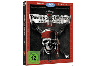 Pirates of the Caribbean - Fremde Gezeiten 3D Blu-ray