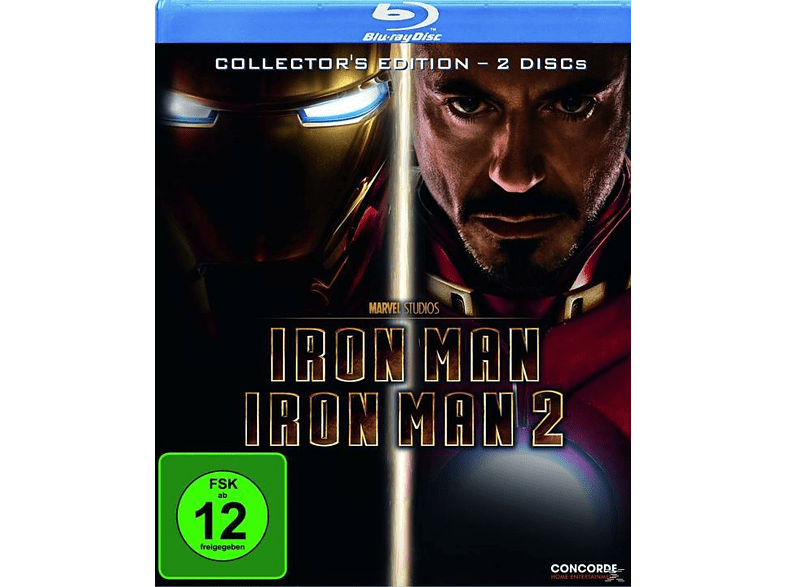 Iron Man + Iron Man 2 - Collector's Edition (Softbox) [Blu-ray]