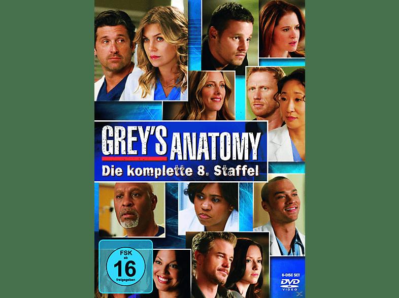Grey's Anatomy - Staffel 8 [DVD]