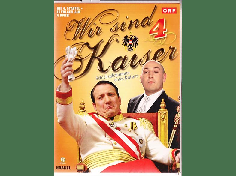WIR SIND KAISER 4.STAFFEL [DVD]